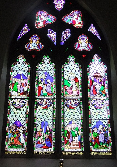 East Stained Glass Window